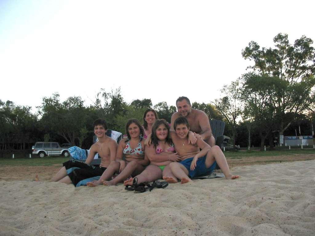 Playa en Colón - Entre Rios - Argentina (2006)