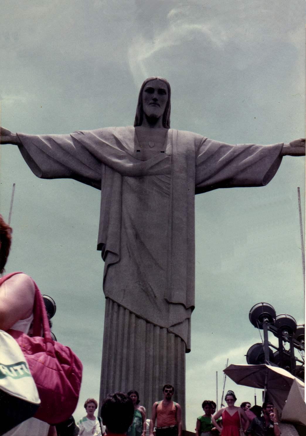 Cristo del Corcovado - Rio de Janeiro - Brasil (1985)