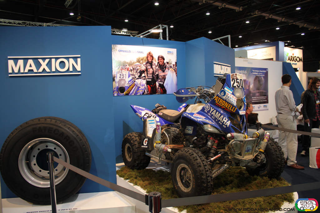 El Cuatri Yamaha ganador del Dakar
